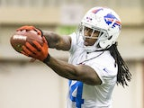 Sammy Watkins #14 of Buffalo Bills pulls in a pass during the Buffalo Bills rookie minicamp on May 18, 2014
