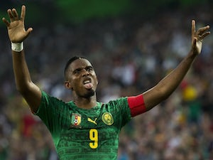 Eto'o remains doubtful for Cameroon