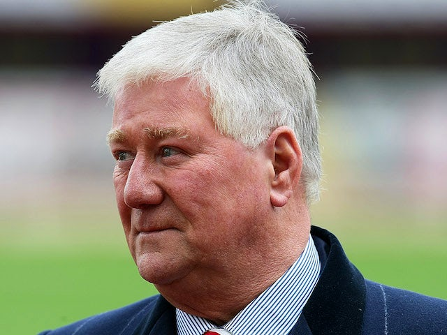 Rotherham United Chairman Tony Stewart looks on prior to the npower League Two match between Rotherham United and Northampton Town at the Don Valley Stadium on May 5, 2014