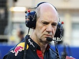 Red Bull Racing Chief Technical Officer Adrian Newey is seen during the Bahrain Formula One Grand Prix at the Bahrain International Circuit on April 6, 2014