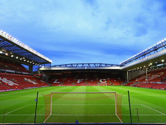 General View prior to the Barclays Premier League match between Liverpool and Sunderland at Anfield on March 26, 2014