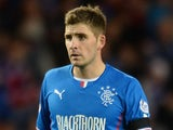 Kyle Hutton of Rangers during the The William Hill Scottish Cup Third Round match at Ibrox Stadium on November 1, 2013