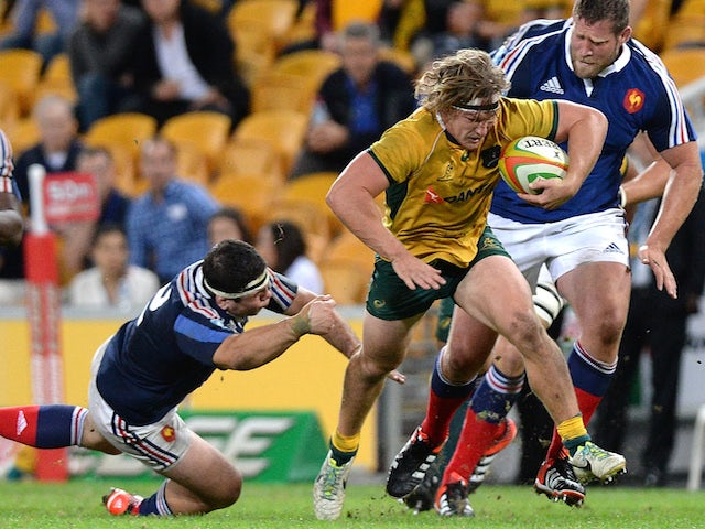 Result: Australia ease to win over France