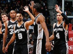 NBA roundup: Spurs end Warriors run