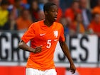 Terence Kongolo of Holland attacks during the International Friendly match between The Netherlands and Ecuador at The Amsterdam Arena on May 17, 2014