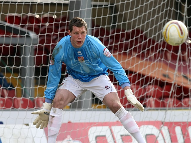 Chris Dunn of Northampton Town in action during the npower League Two match between Bradford City and Northampton Town at The Coral Windows Stadium on March 19, 2011