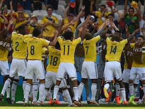 Live Commentary: Colombia 3-0 Greece - as it happened