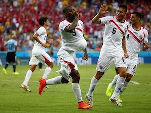 Ruiz heads Costa Rica into lead