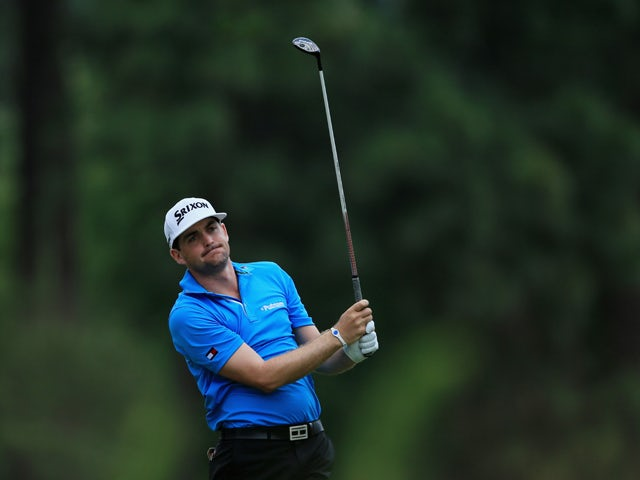 Keegan Bradley of the United States hits a shot during the second round of the 114th U.S. Open at Pinehurst Resort & Country Club, Course No. 2 on June 13, 2014