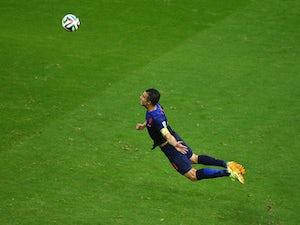 World Cup fans launch #VanPersieing craze