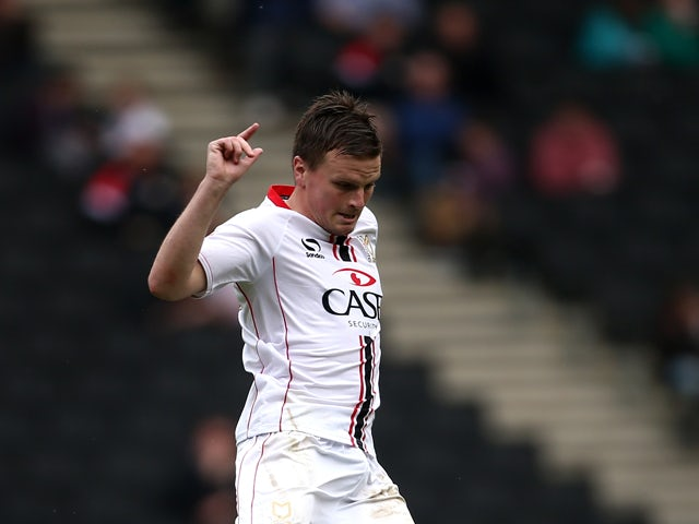 Result: MK Dons put four past Gillingham