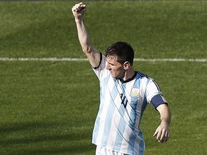 Argentina through after penalties win