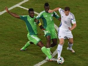 Dzeko blames referee for World Cup exit
