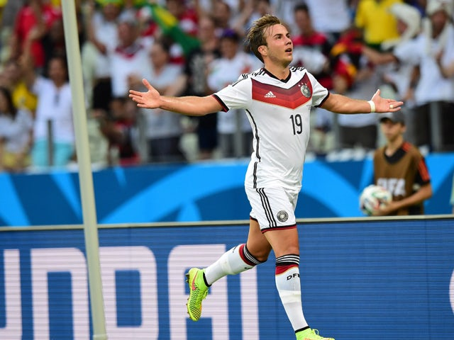 Result: Gotze double inspires Germany victory