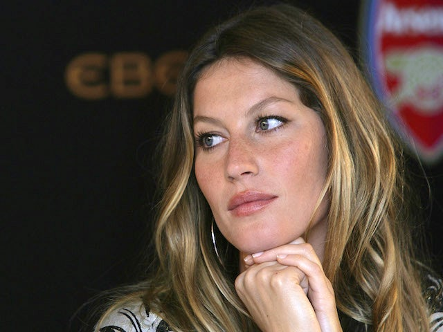 Ambassador For Ebel Gisele Bundchen attends a press conference to announce Ebel as official timing partner of Arsenal football club at The Hospital on June 19, 2007