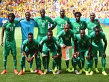The Ivory Coast pose for a team photo prior to the 2014 FIFA World Cup Brazil Group C match between Colombia and Cote D'Ivoire at Estadio Nacional on June 19, 2014