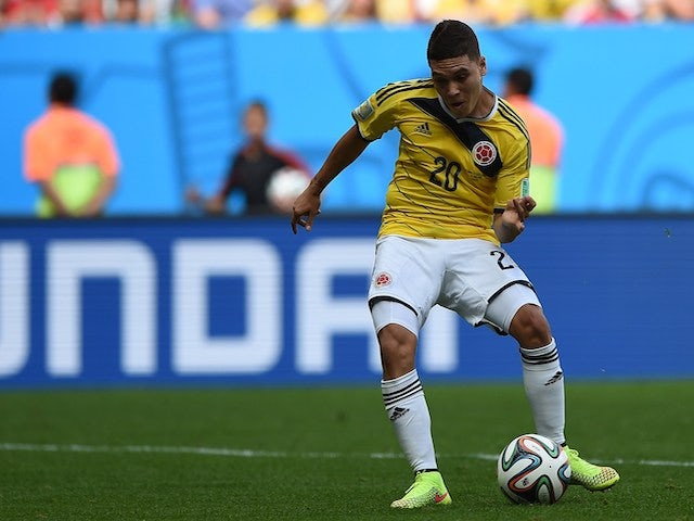 Juan Fernando Quintero: Player Ratings: Colombia 2-1 Ivory Coast