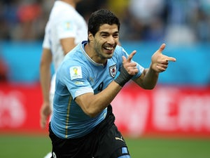 Suarez steeling himself for Italy game