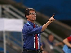 Capello: 'Belgium defeat unfair'
