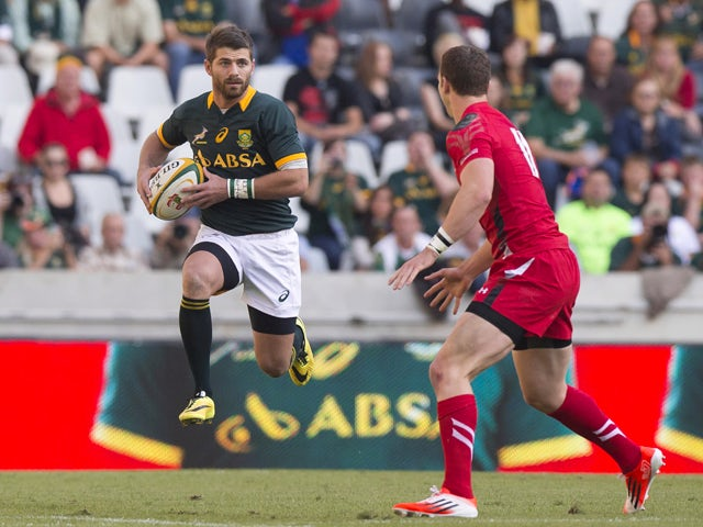 Result: South Africa down brave Argentina