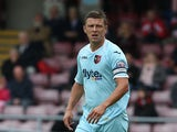 Danny Coles of Exeter City in action during the Sky Bet League Two match between Northampton Town and Exeter City at Sixfields Stadium on September 14, 2013