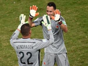Colombia's Mondragon breaks World Cup age record