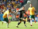 Fernando Torres in action for Spain against Australia on June 23, 2014.