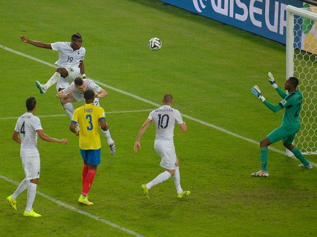 Result: Ecuador eliminated, France unbeaten