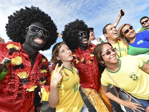 FIFA probe over 'blacked-up' fans