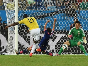 Result: Colombia thrash Japan to win group