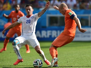 Live Commentary: Netherlands 2-0 Chile - as it happened