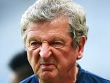 England Manager Roy Hodgson looks on during an England training session on June 23, 2014, ahead of the 2014 FIFA World Cup Brazil Group D match against Costa Rica in Belo Horizonte