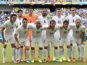 Team News: Suarez keeps place in Uruguay side