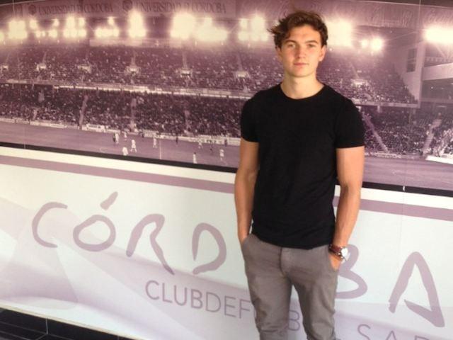 Cordoba player Austin Eaton