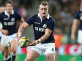 Stuart Hogg of Scotland during the Incoming Tour match between South Africa and Scotland at Nelson Mandela Bay Stadium on June 28, 2014