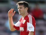 Brendan Moloney of Bristol City in action during the Sky Bet League One match between Coventry City and Bristol City at Sixfields Stadium on August 11, 2013