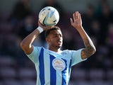 Cyrus Christie of Coventry City in action during the Sky Bet League One match between Coventry City and Port Vale at Sixfields Stadium on March 16, 2014