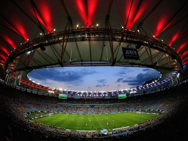 A general view of the stadium during the 2014 FIFA World Cup Brazil Final match between Germany and Argentina at Maracana on July 13, 2014