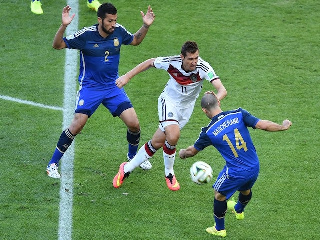 In Pictures: World Cup Final Live: Germany vs Argentina