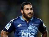 Piri Weepu of the Blues during the round 11 Super Rugby match between the Blues and the Waratahs at Eden Park on April 25, 2014