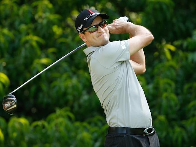 Zach Johnson playing in the John Deere Classic on July 10, 2014