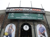 General View of the Main entry to Providence Park before the game between the Portland Timbers and the Seattle Sounders FC at Providence Park on April 5, 2014