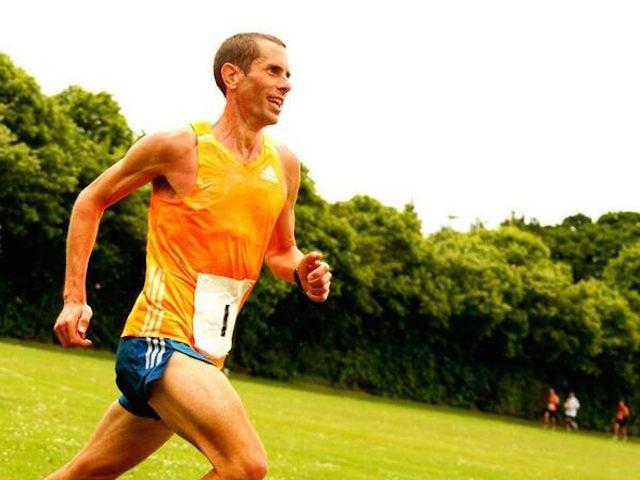 Team England marathon runner Steve Way