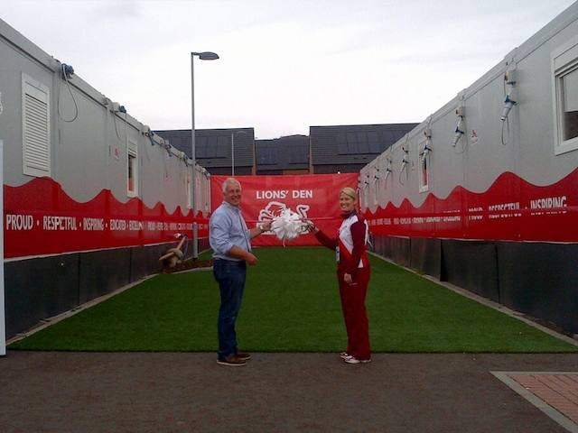 Team England's Lions' Den at the Commonwealth Games in Glasgow
