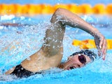 Aimee Willmott of England competes in the Women's 400m Individual Medley Final at Tollcross International Swimming Centre during day one of the Glasgow 2014 Commonwealth Games on July 24, 2014