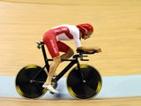 Team England's Andy Tennant competes in the 4000m individual pursuit qualifying on July 25, 2014