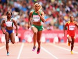 Blessing Okagbare cruises to victory in her 100m heat on day four of the 2014 Commonwealth Games at Hampden Park, Glasgow on July 27, 2014