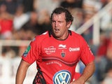 Carl Hayman of Toulon looks on during the Heineken Cup Pool 2 match between Toulon and Glasgow Warriors at the Felix Mayol Stadium on October 13, 2013