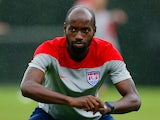 DaMarcus Beasley of the United States works during their training session at Sao Paulo FC on June 10, 2014