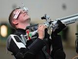 England's Dan Rivers secures shooting bronze on July 25, 2014